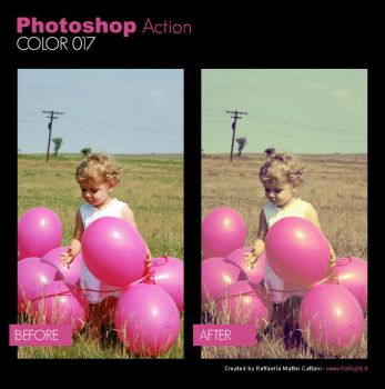 Photoshop Action - Color 017 by primaluce