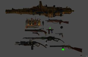 'Fabula Mortis' Weapons XPS ONLY!!! by lezisell