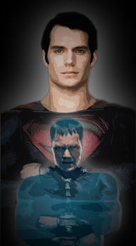 Superman and Zod by natestarke