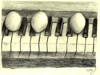 Piano Eggstravancia by HuntressGuya
