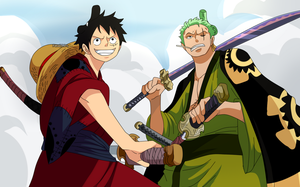Luffy and Zoro (One Piece CH. 912) by FanaliShiro