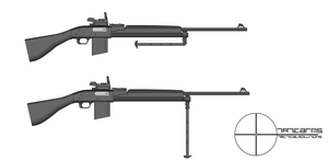 Tate Arm's TAR or Tate Automatic Rifle by GeneralTate