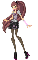 PC - Piwy Casual Outfit by WinX-Magic