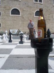 Beer And Chess by hobohippy