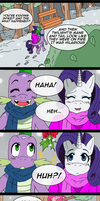 ss2sonic Comic - Sparity Mistletoe by flawlessvictory20