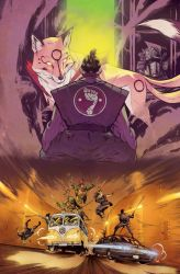 TMNT_Secret History of the Foot Clan #2_coverA by Santolouco