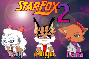 Star Fox The Three Not Meant To Be by RockmanGurl