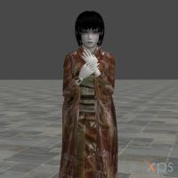 Fatal Frame 2 Ghost by mz3dcg