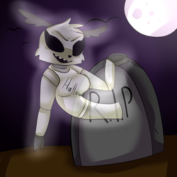 Ghost Rendy [Contest] by FnafDrawingWorld