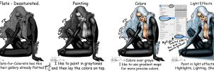 Black Cat - Tutorial by TracyWong