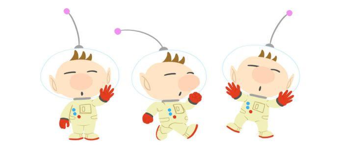 Pikmin - character design Olimar by doodlemanAddam