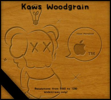 Kaws Woodgrain by NanaJ