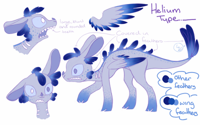 Periodic comission: Helium type by Painted-Polarbear