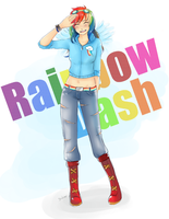 MLP: Rainbow Dash by Jaskierka