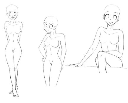 Basic Poses- Edition 3 by darkflower8923