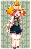 ACNL Isabelle by Nemufrog
