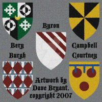 Heraldic achievements I by Catspaw-DTP-Services