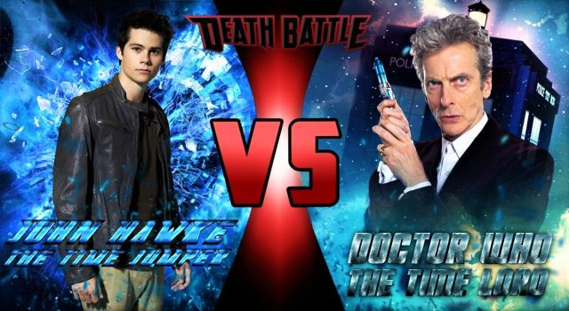 Death Battle - Time Jumper vs Doctor Who by TristanHartup