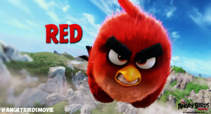The Angry Birds Movie Red Wallpaper by Jeremiekent13