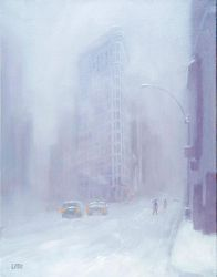 snow on Broadway by edlittle