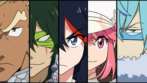 Kill La Kill Wallpaper by Xhan13