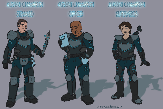 Xcom legacy: ADVENT Champions (by Manda-of-the-6) by TheBritWriter