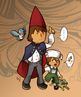 PL x OtGW: Over the Puzzle Wall by MagicianCelemis