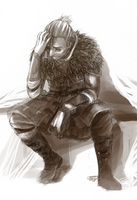sad anders. by kyuubifred