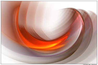 Abstract In Blaze Orange by TomWilcox