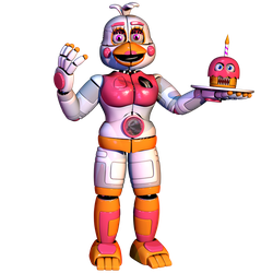 Funtime Chica v3.666 by The-Smileyy