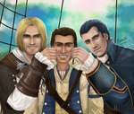 Smile, Connor! by prince-kristian
