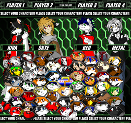 Select Your Character by Kivwolf