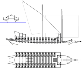gothic galley - fantasy ship concept by oldschoolitems