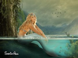 Mermaid by sabrineasl