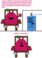 How Mr. Chatterbox would be like in the show by Percyfan94