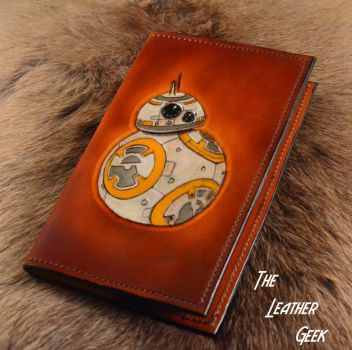 BB8 leather journal by CoreyChiev