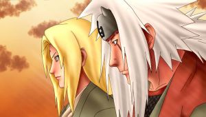 naruto: jiraiya and tsunade by radouane20