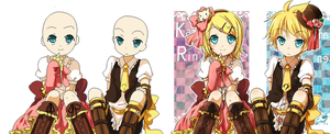 Len and Rin Base Requested By Princessgothicfull by xXxtamdasexmonoxXx