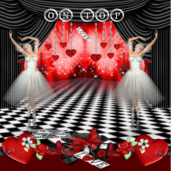 On-Top Love-Valentine-ajposer-byrd-6.26.2014 by hungry4art
