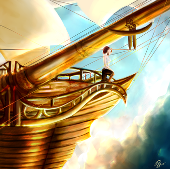 A nice day to sail the sky... by Genericdreams