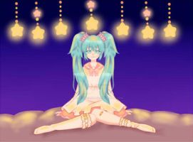 Lots of Laugh Miku by DreamySheepStudios