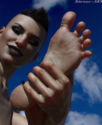 This is my foot. by Steves-3D