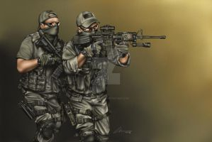 Tactical Movement by ArtworkByDon
