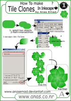 Use tile clones in inkscape by anasemad
