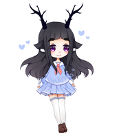 [Closed] Deer Adoptable by xPathemaX