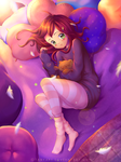 Sleepy Autumn [+ Speedpaint] by TanyaKi