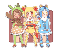 XY Starters by TheSoundOfFreedom