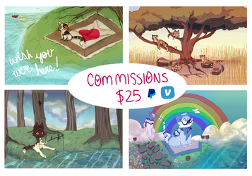 Commission Info (Commissions Open) by TheMiniApocalypse