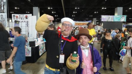 Denver Comic Con 2018 Day 3: Popeye and Willy... by Mr-Herp-Derp