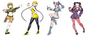 Pokegirls sketchs vol 5 by GENZOMAN